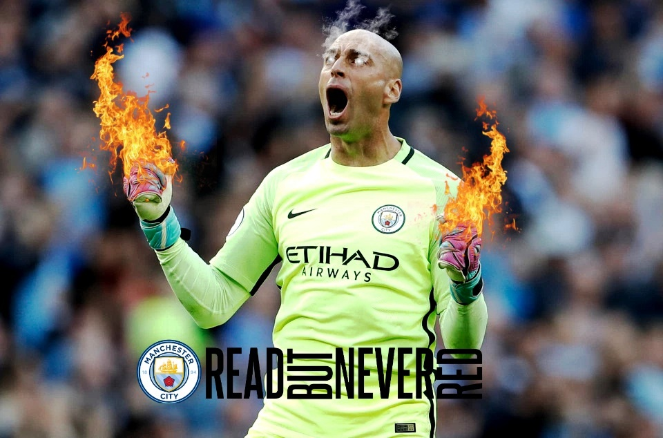 Hands of Fire - Willy Caballero is red hot when it comes to stopping shots from the penalty spot. Image courtesy of Stiz from the BlueRoom.