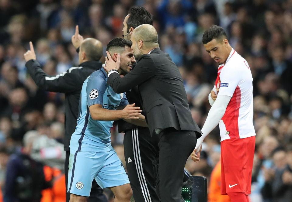 Give us a kiss - Blue Bromance for Pep and Sergio and here's hoping it lasts all the way through to 2020.