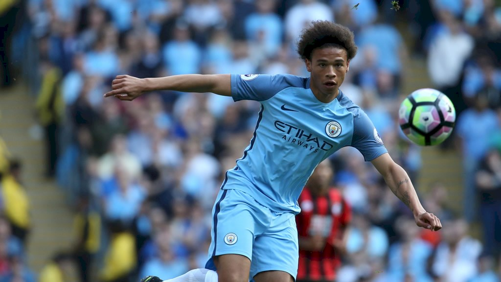Leroy Sane is showing why he will be a City superstar in the very near future.