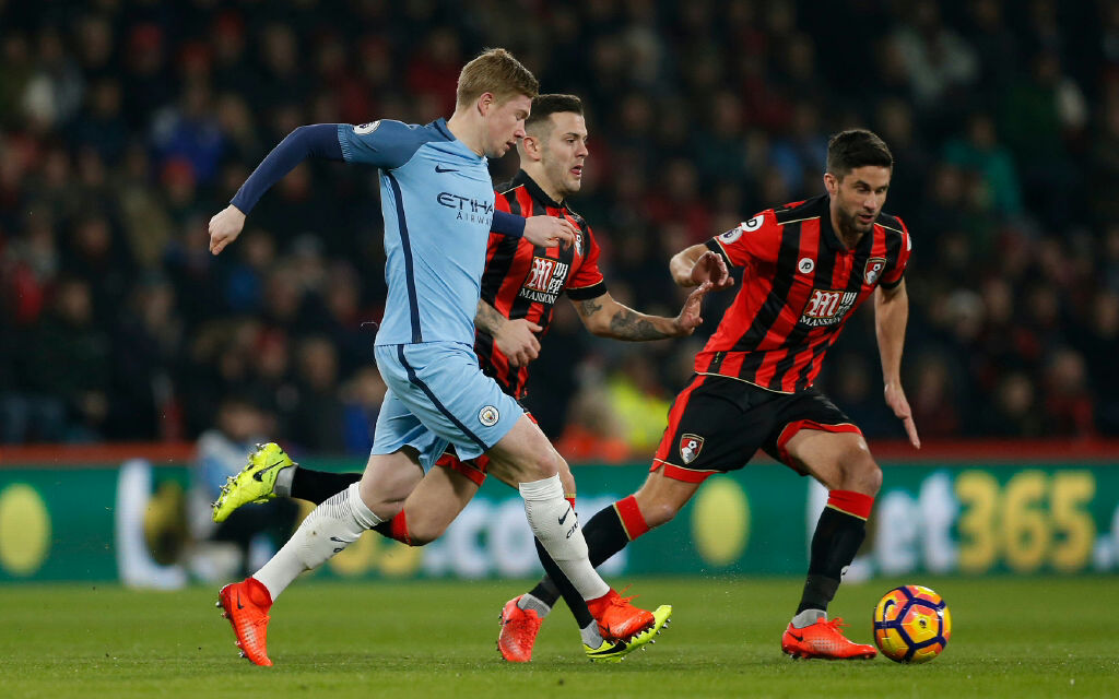 KDB will need to be at his creative best to help City reach the Champions League Quarter Finals.