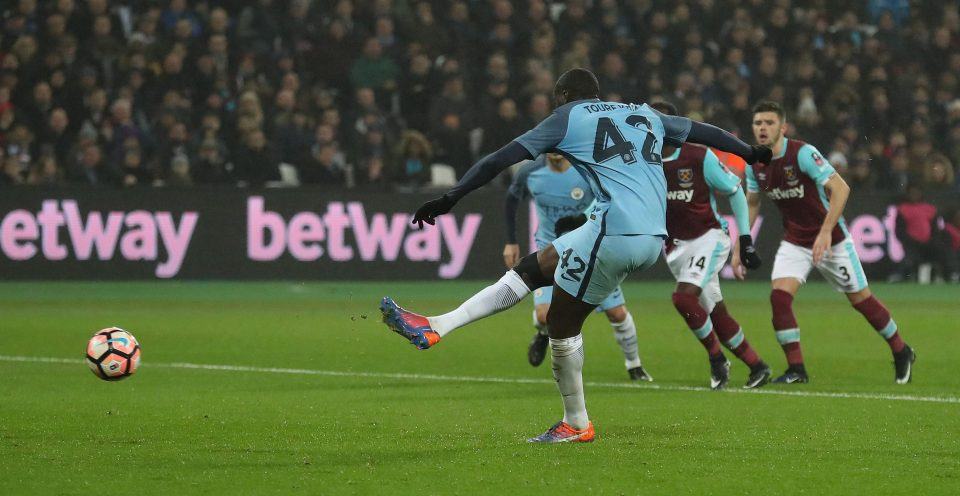 Spot on - Yaya has never missed a penalty in City colours - long may it continue.
