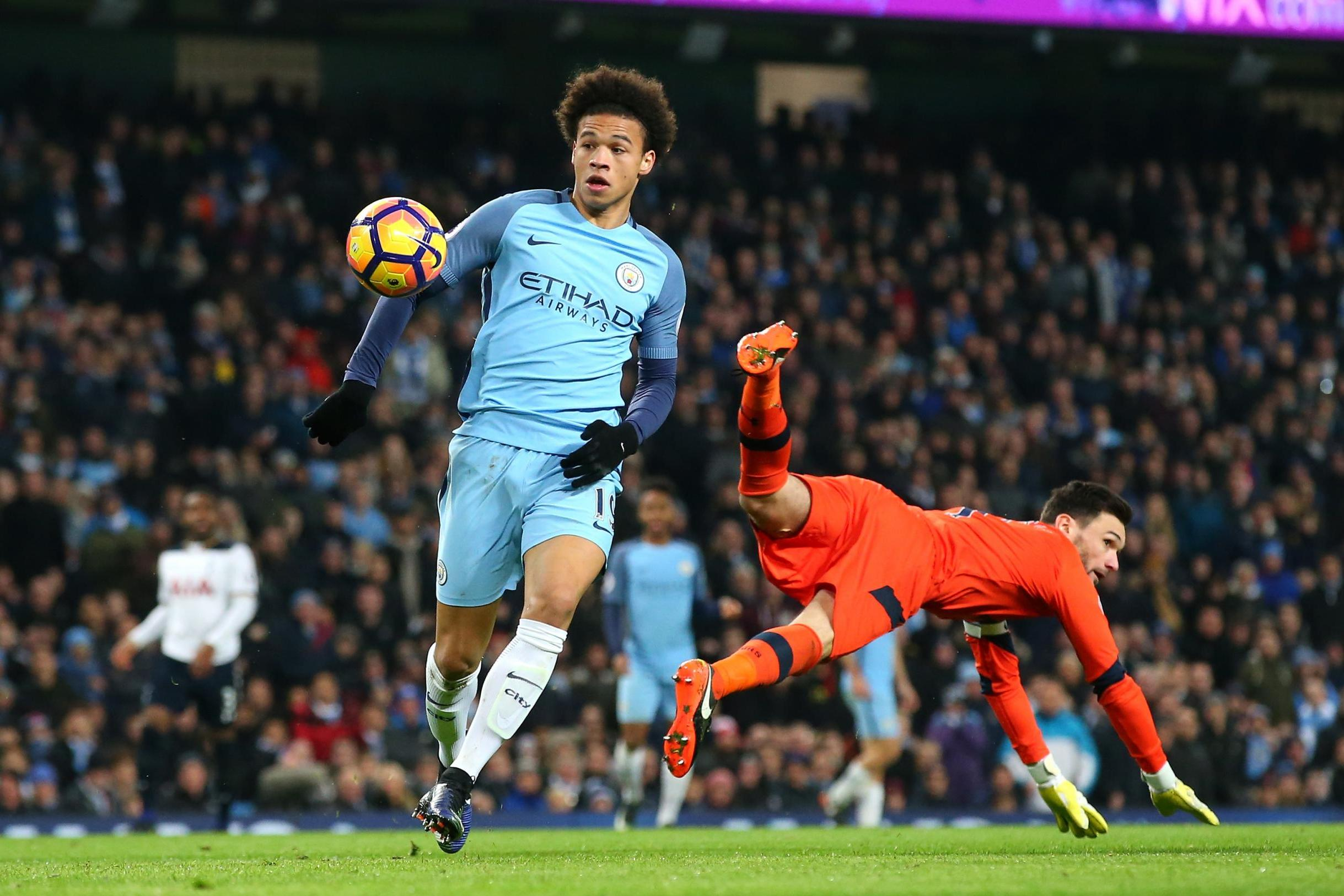 Leroy Sane is beginning to show why City paid £37m for him last summer and why Pep rates him so highly.
