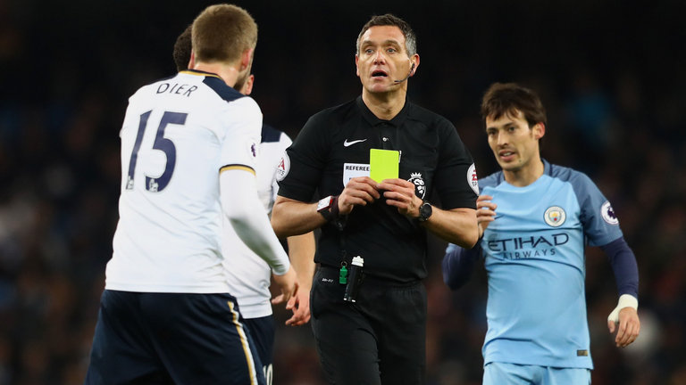 Blind, bent or maybe even both - just asking? Ref Andre Marriner has been rewarded with the EFL Cup Final after abysmal displays when officiating City matches.