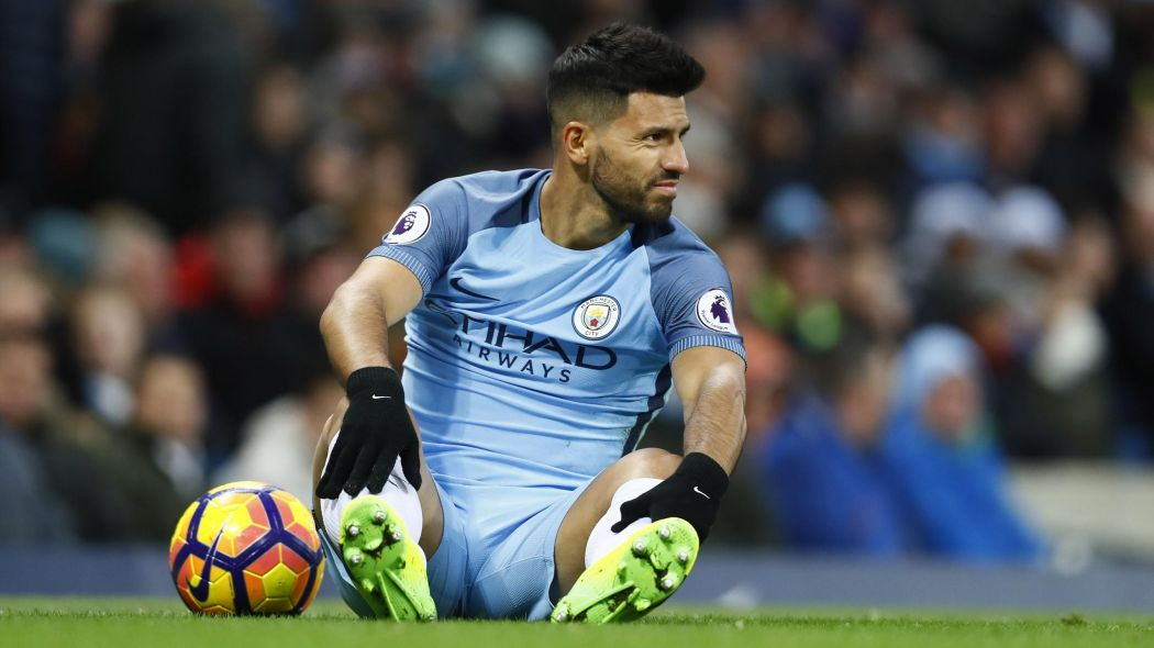 Down but far from out - Sergio wants to stay at City.