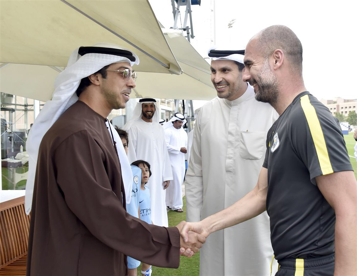 Best in the world - Colin is convinced that Pep Guardiola and Sheikh Mansour will take City to new levels of success.