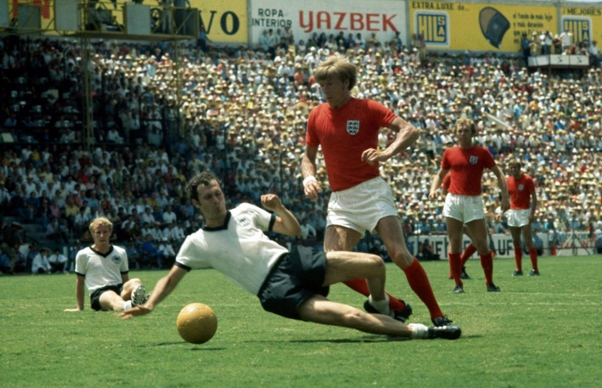 World Cup heartbreak - Colin replaced Bobby Charlton in the sweltering Mexican heat before West Germany sealed a 3-2 comeback win in 1970.