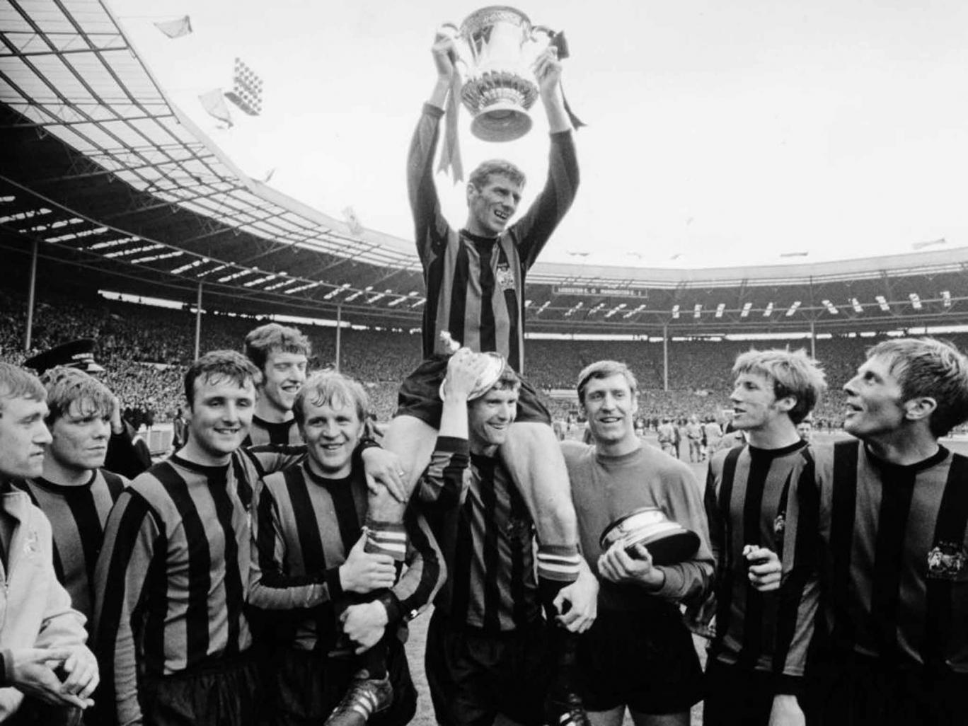 Wembley glory in the FA Cup Final against Leicester City in 1969 isn't Colin's most memorable game.
