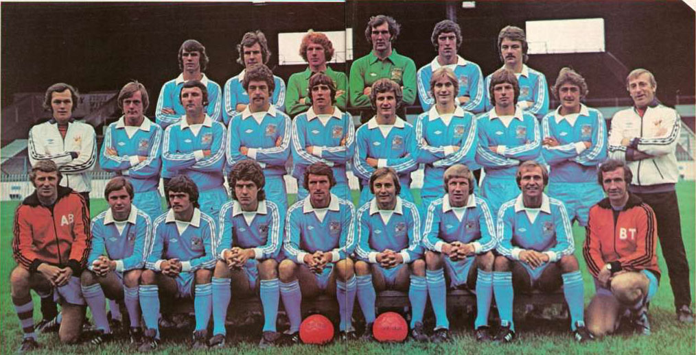 City's best ever - Colin rates Tony Book's Division One Runners-Up side of 1976-77 as the best City line-up in his career.