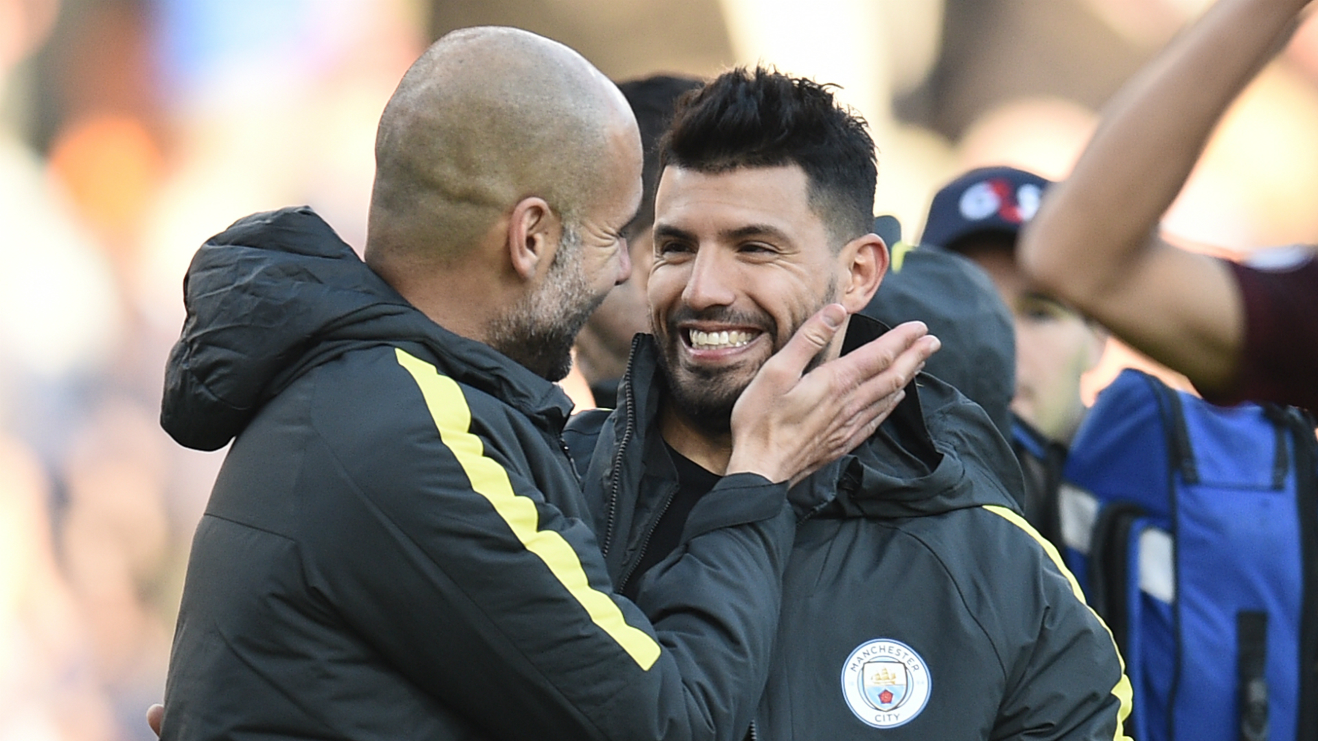 All smiles - Why would Pep want Sergio to leave City this summer?