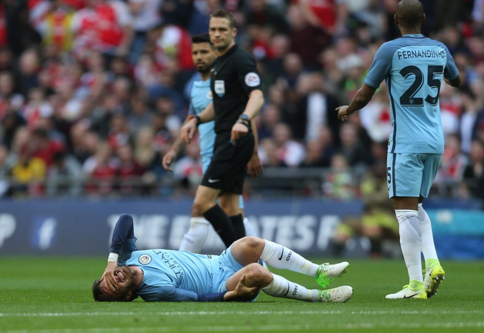 Silva Assault - Craig Pawson didn't even see fit to book the Arsenal thug who kicked El Mago out of the FA Cup semi final.