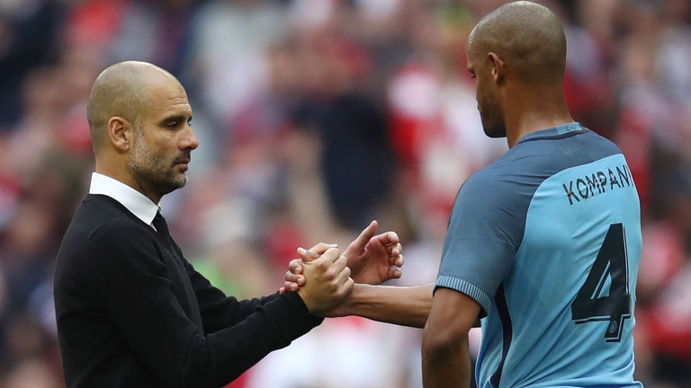 Pep in good Kompany - City's leaders will rise again and take the Blues to glory.
