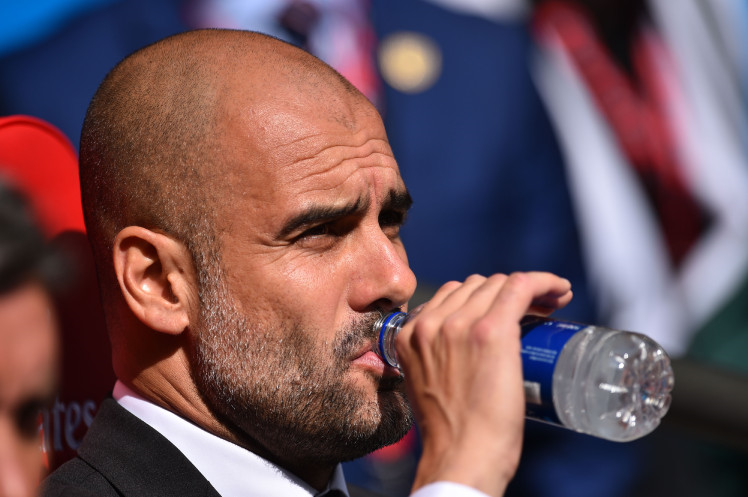 Hard to swallow - Pep has had to ensure a litany of wrong decisions that referees have made against City this season.