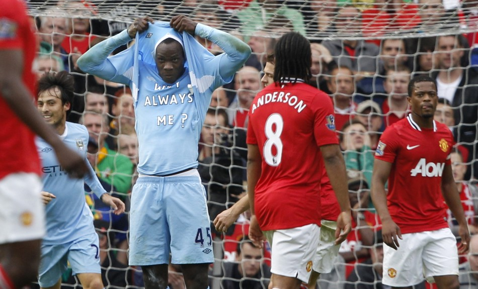 Why always him? On a day when Mario was Super and not Mad, City took United to the cleaners 6-1.