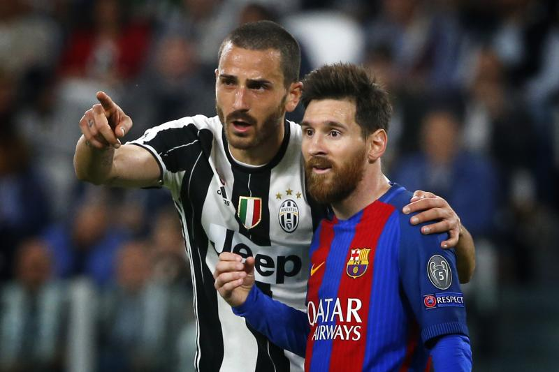 What are the odds of Bonucci and Messi being in City blue next season?