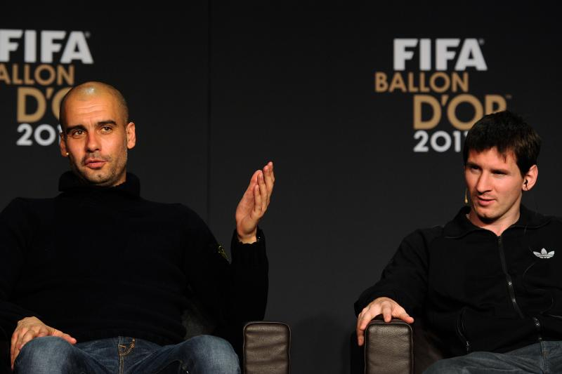 Rewind and Fast Forward - Pep Guardiola and Lionel Messi could emulate their glories of the past in the future at City.